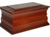 Traditional Casket - Mahogany