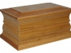 Traditional Casket - Solid Oak